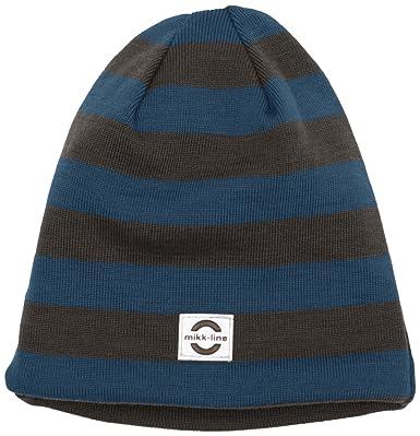 Mikk-Line Boy s 91006 Hat, Multicolour (Legion Blue), 18-24 Months ... fda2bc316e2