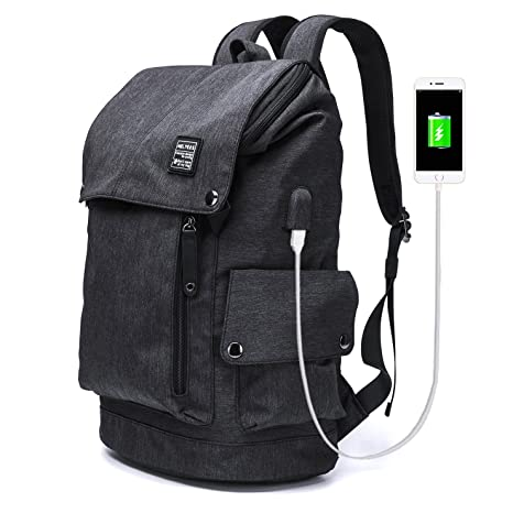 c3dc85aa0c9 YLLS Business Laptop Backpack for Men Women Anti Theft Tear Water Resistant