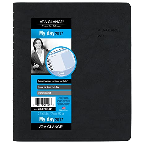 amazon com at a glance daily appointment book planner 2017 the