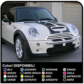 Mini Strip Stickers Kit Mini S R53 S And One Compatible With All