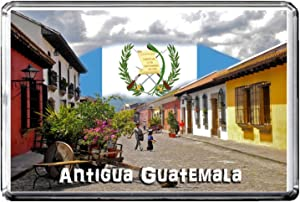 C252 ANTIGUA GUATEMALA FRIDGE MAGNET GUATEMALA TRAVEL REFRIGERATOR MAGNET