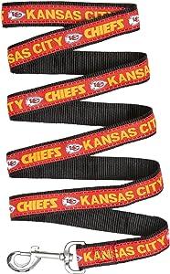 KANSAS CITY CHIEFS Dog Leash, Medium