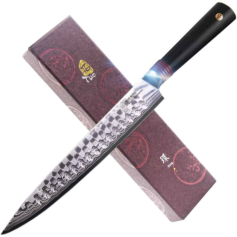 Amazon.com: TUO CUTLERY - Cuchillo para cortar de acero ...