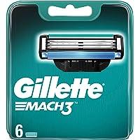 Gillette Mach3 Scheermesjes Voor Mannen, 6 Navulmesjes