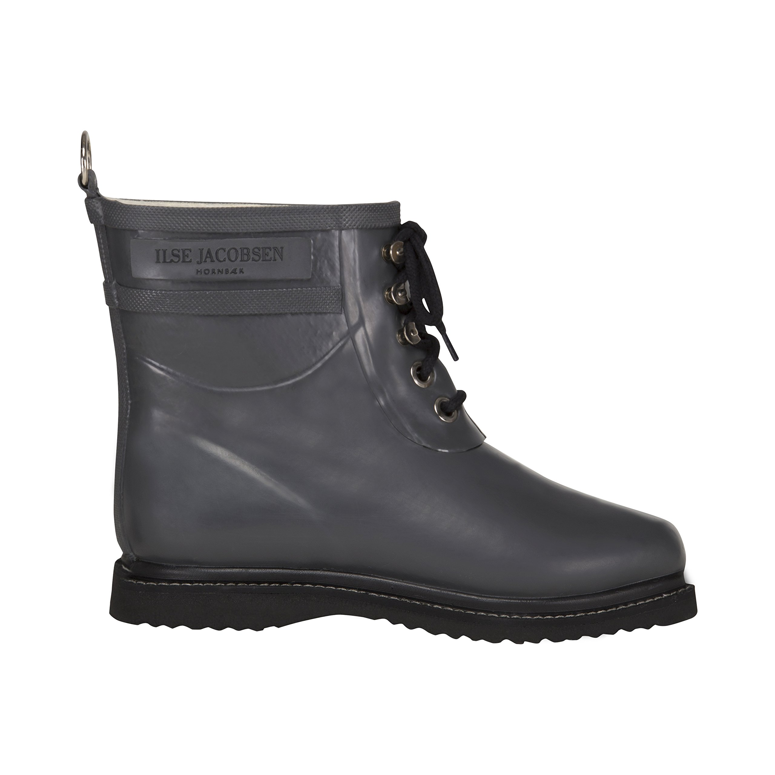 ILSE JACOBSEN Women's Rub 2 Rain Boot,Grey,38 EU/8 M US