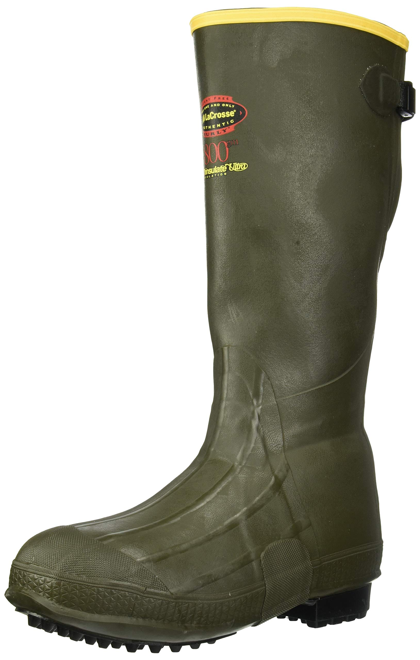 Lacrosse Men's Burly Air Grip 800G-M, Forest Green, 12 M US by Unknown