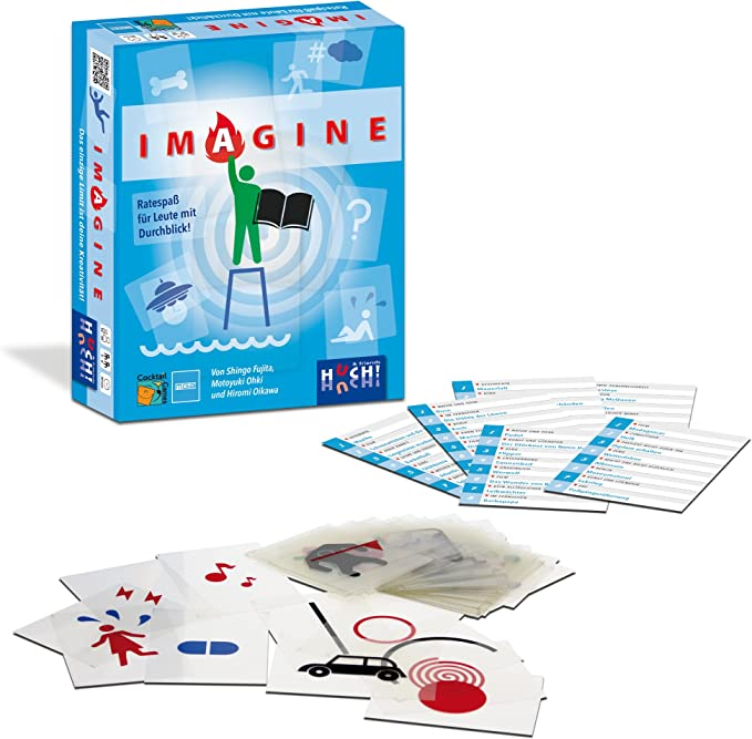 Huch & Friends 879493 – Imagine, Juego de Cartas: Nakashima ...