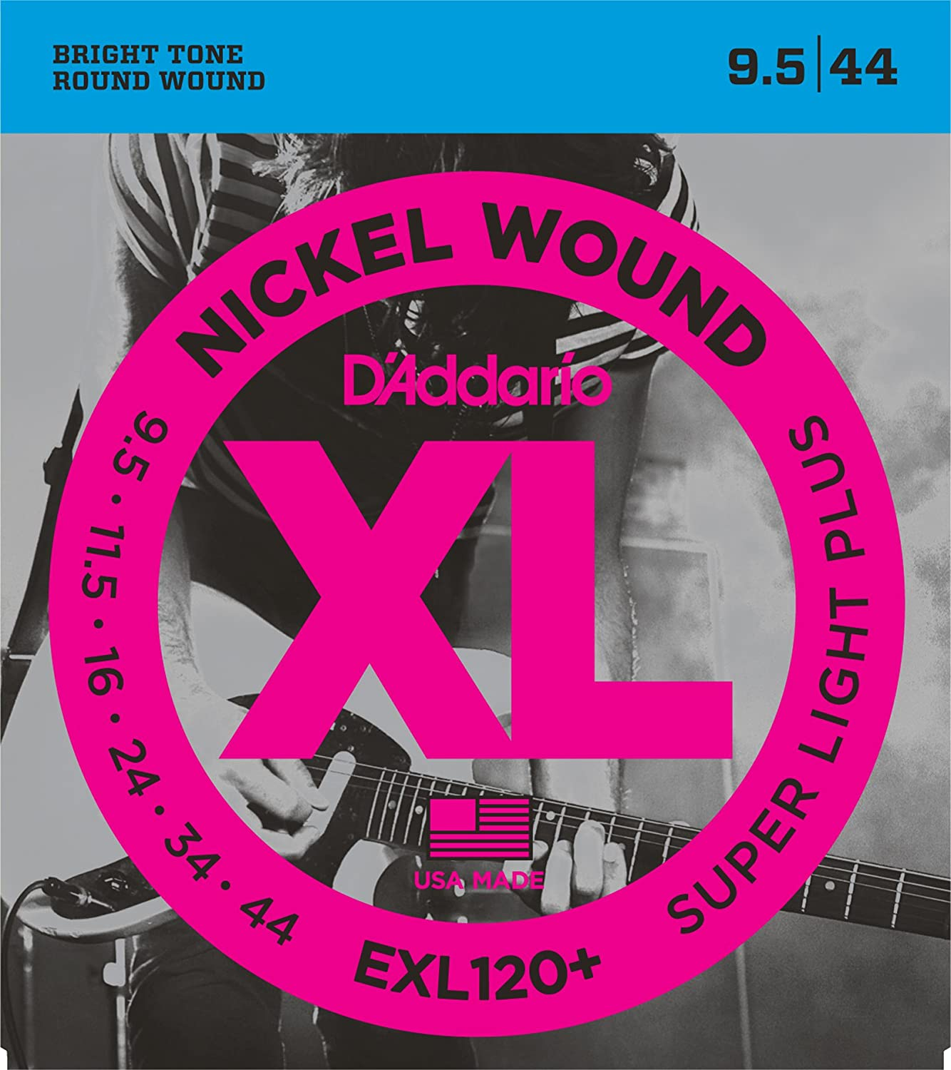d addario exl120 nickel wound electric guitar strings