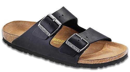 886a6791ce57 Birkenstock Arizona Oiled Leather Sandal  Birkenstock  Amazon.in ...