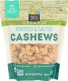 365 Everyday Value, Organic Cashews, Roasted & Salted, 10 oz