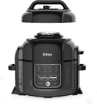 Refurb Ninja 6.5 Qt. 8-in-1 Foodi TenderCrisp 1400 Watts Pressure Cooker