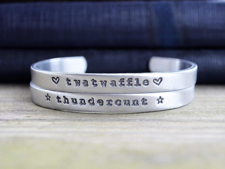 Best Friend Gift Funny Jewelry Funny Bracelet Thundercunt Bracelet