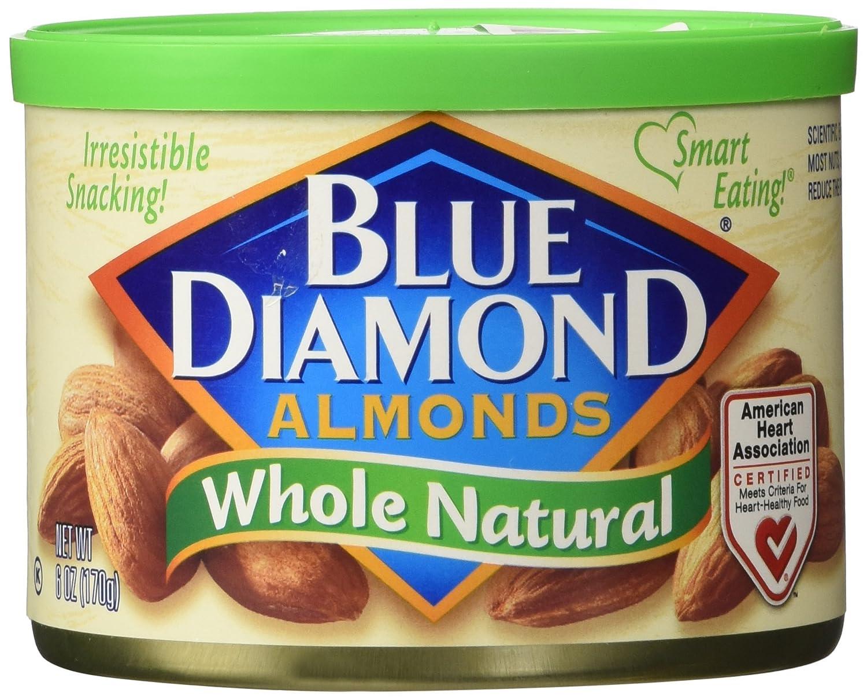 Blue Diamond Almonds, Whole Natural, 19.2-Ounce