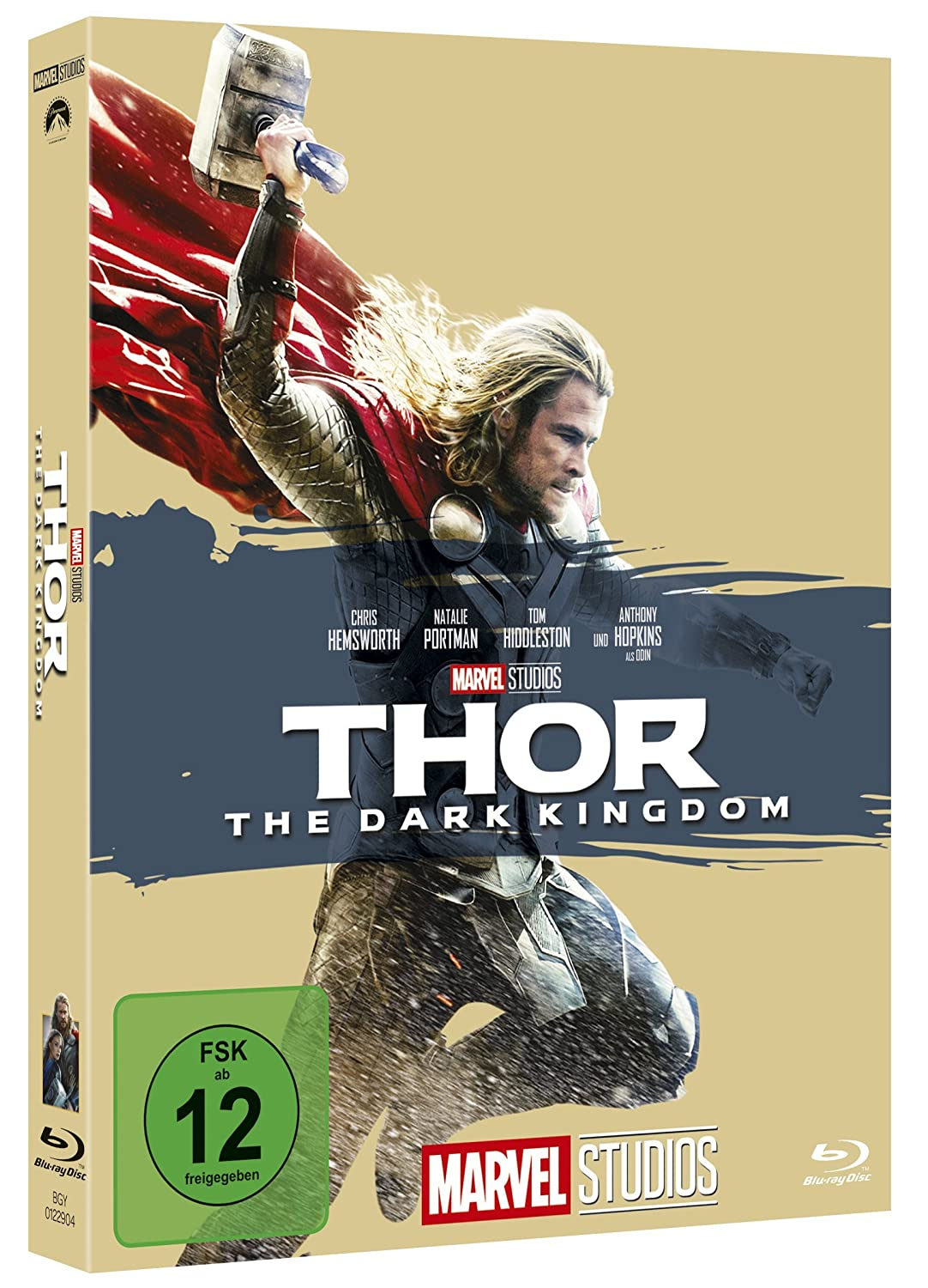 Thor The Dark Kingdom Blu R Blu Ray Chris Hemsworth Natalie Portman Tom Hiddleston Stellan Skarsgård Idris Elba Christopher Eccleston Adewale Akinnuoye Agbaje Kat Dennings Ray Stevenson Anthony Hopkins Jaimie Alexander