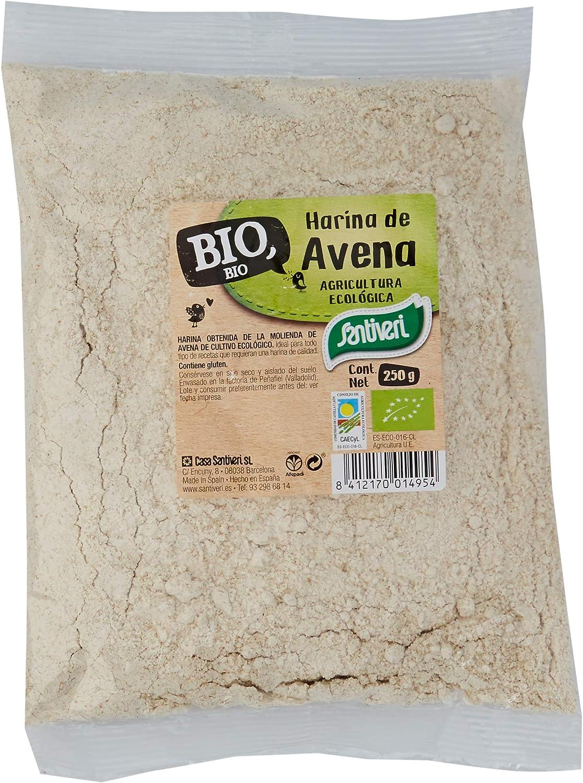 Santiveri Naturalia Harina De Avena Bio 100 g: Amazon.es: Alimentación y bebidas
