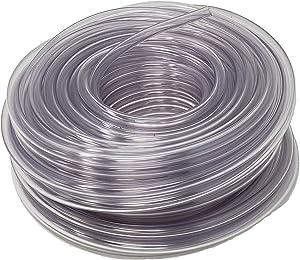 Rollerflex Food Grade Crystal Clear Vinyl Tubing, 1/2-Inch ID x 5/8-Inch OD, 100-FT