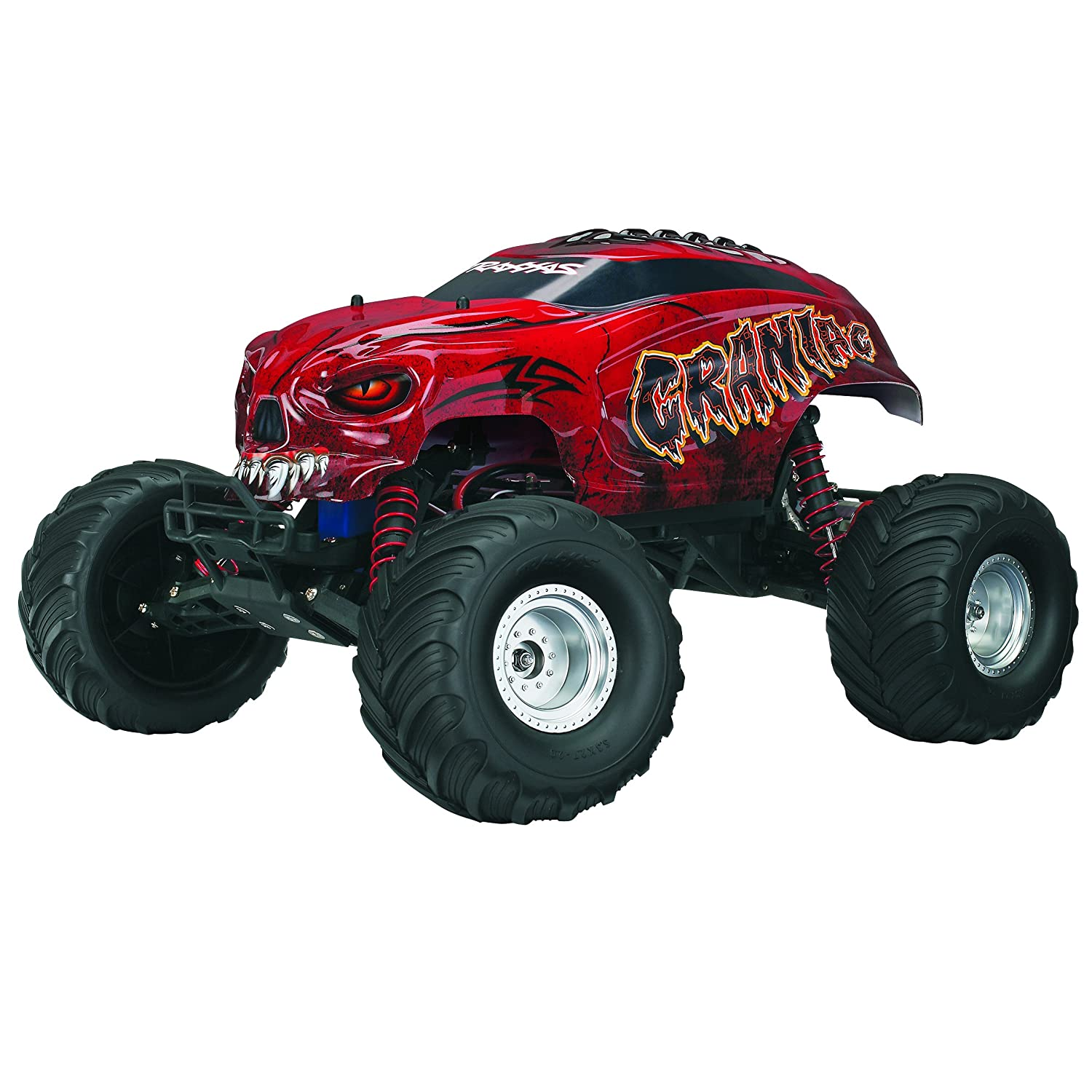 Amazon Traxxas 1 1 10 Craniac RTR TQ 2 4 GHz Vehicle Color May Vary Toys & Games