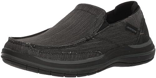 Skechers Elson-Amster, Mocasines para Hombre: Amazon.es: Zapatos y complementos