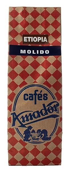 Cafés AMADOR - Café MOLIDO GRUESO Natural Arábica - ETIOPÍA ...