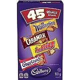 CADBURY Assorted Fun Treats Halloween Chocolate Candy, 45 count, 501g