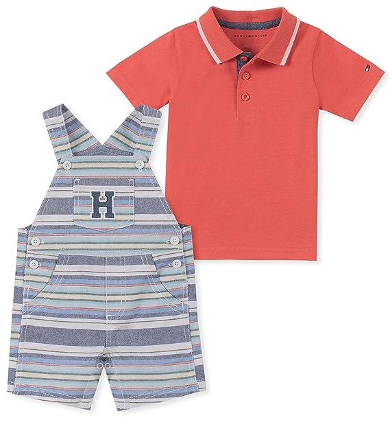 verkauft Wählen Sie für neueste elegant und anmutig Tommy Hilfiger Baby Boys 2 Pieces Shortall