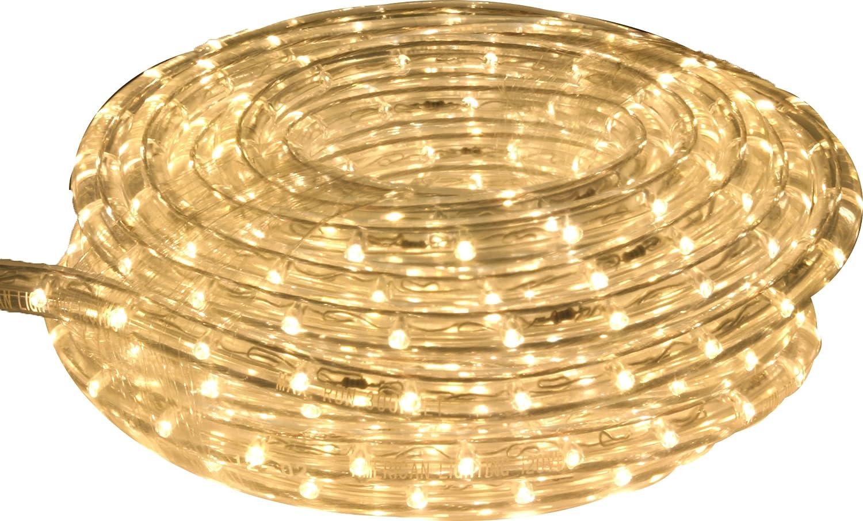 9-Foot American Lighting LR-LED-UWW-9 Commercial-Grade LED Rope Lighting Kit Ultra White