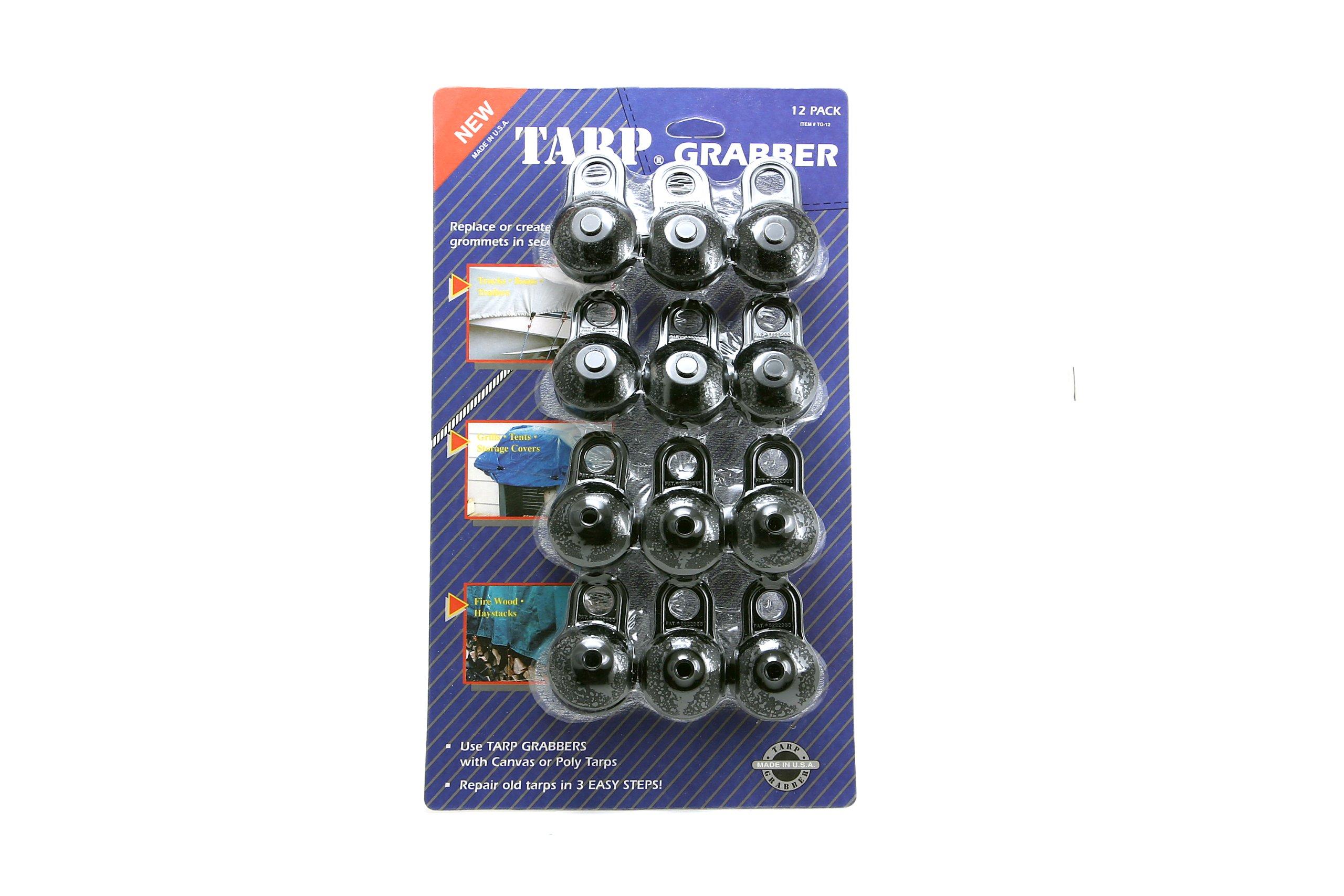 Tarp Grabbers TG-12 Tarp Grabbers, 12-Pack by Tarp Grabbers (Image #3)