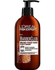 L'OREAL PARIS Men Expert Barber Club 3-in-1 Beard + Face + Hair Wash