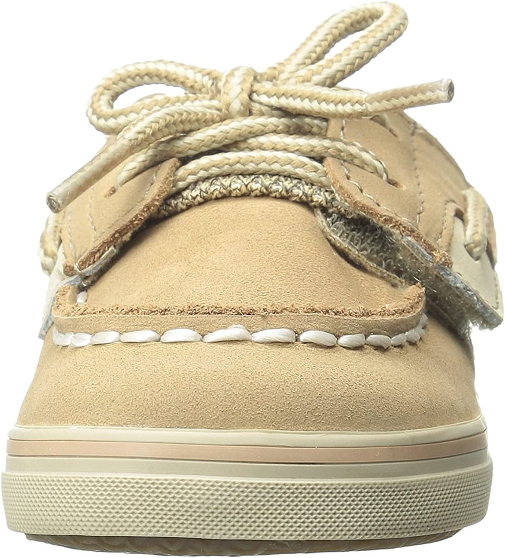 ,Linen Sperry Bluefish Crib A//C Boat Shoe 2 M US Infant Infant//Toddler//Little Kid