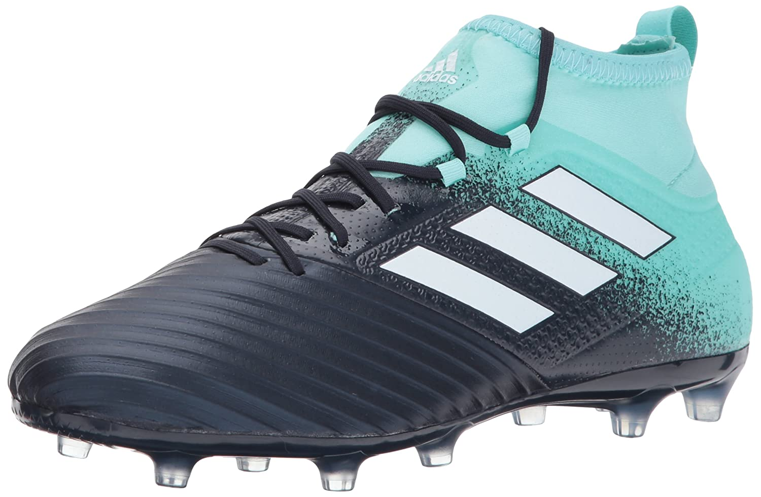 Adidas Originals Men's Ace 17.2 Firm Ground Cleats Soccer Schuhe, Energy Aqua Weiß Legend Ink, (10.5 M US)