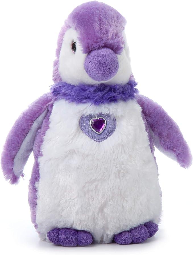 Best Selling Purple Pompom Penguin 6In Plush Soft Toy Animal for Lovely Gift