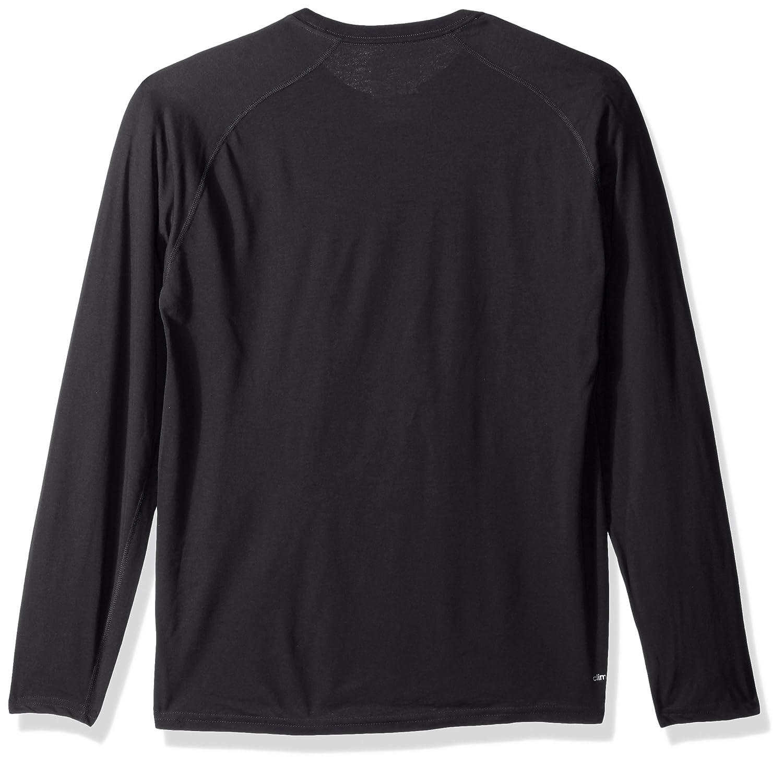 adidas NC State Wolfpack NCAA Mens Black Sideline Gridiron Climalite Ultimate Tee Long Sleeve T-Shirt
