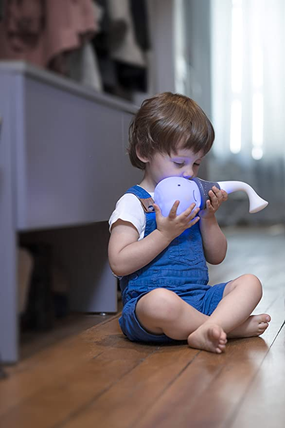 Babymoov Veilleuse Tweesty Boy Grande Autonomie Intensit/é R/églable et Berceuses