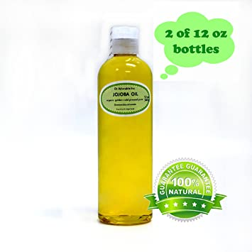 Amazon.com : Jojoba Oil Great for Skin Hair Face & Nails Lips ...