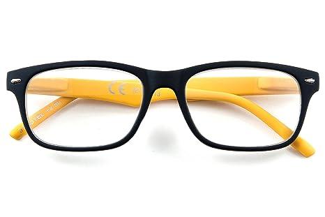 Lectura Gafas de Lectura Amarillo Negro Plástico Original de ...