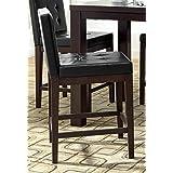Progressive Furniture Athena Dining Chairs, Dark Chocolate