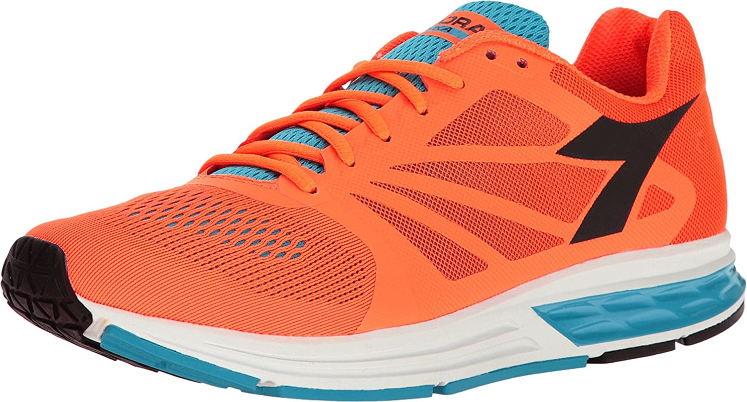 meilleur site web f3648 2a086 Diadora Men's Kuruka Light Orange Fluo/Cyan Blue Fluo ...