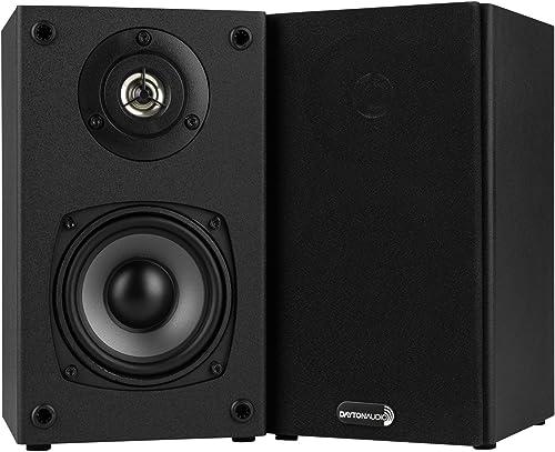 Dayton Audio B452 4-1 2 2-Way Bookshelf Speaker Pair