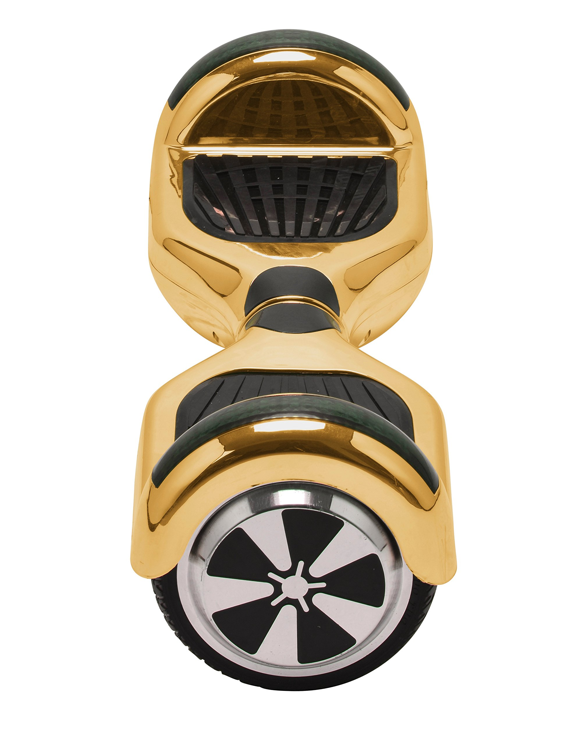 UL2272 Certified Hoverboard with Bluetooth Speaker and LED Lights Smart Self Balancing Scooter Personal Adult Transporter- Chrome Gold by Self Balance Scooter (Image #2)
