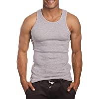 9e0f2f89c996a Mens Camo Muscle Tank Top Gym Work Out Super Thick 3 Pack