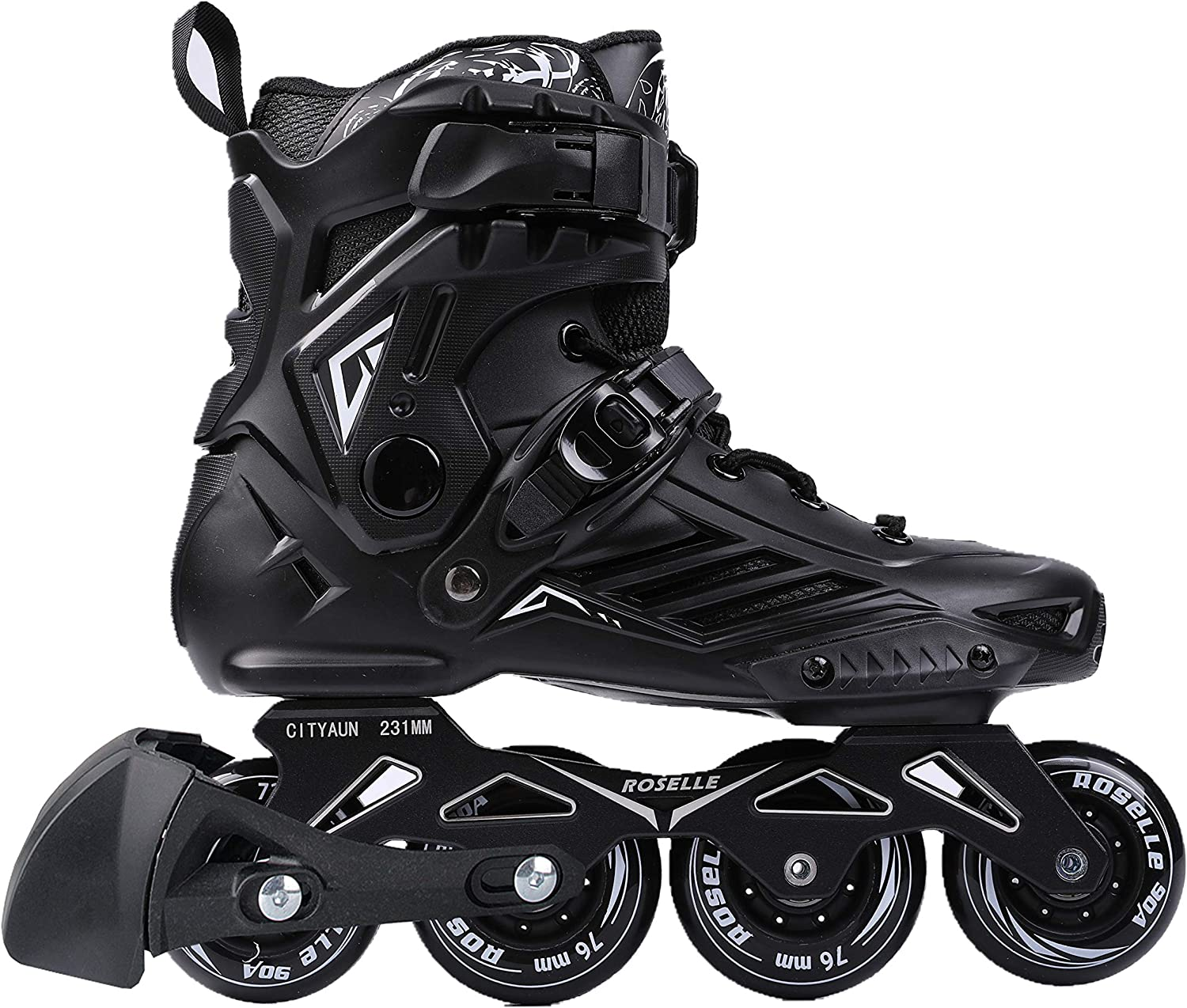 you-beat-you-land Adult Inline Skates for Man and Woman LS