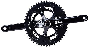 Sram Road Rival - Biela para Bicicleta de Carretera, 46-36 Dientes ...