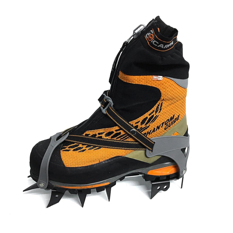 neige, glace Psychi - Avec sac inclus Crampons de montagne//marche C1 /à 12/pointes pour lhiver