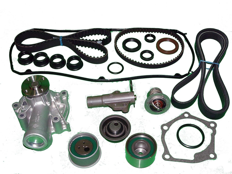 Mitsubishi 2004 mitsubishi lancer engine : Amazon.com: TBK Timing Belt Kit Mitsubishi Lancer Ralliart 2004 to ...