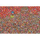 1000ピース ジグソーパズル Where's Wally? アニバーサリーボール フォー ジャパン(49x72cm)