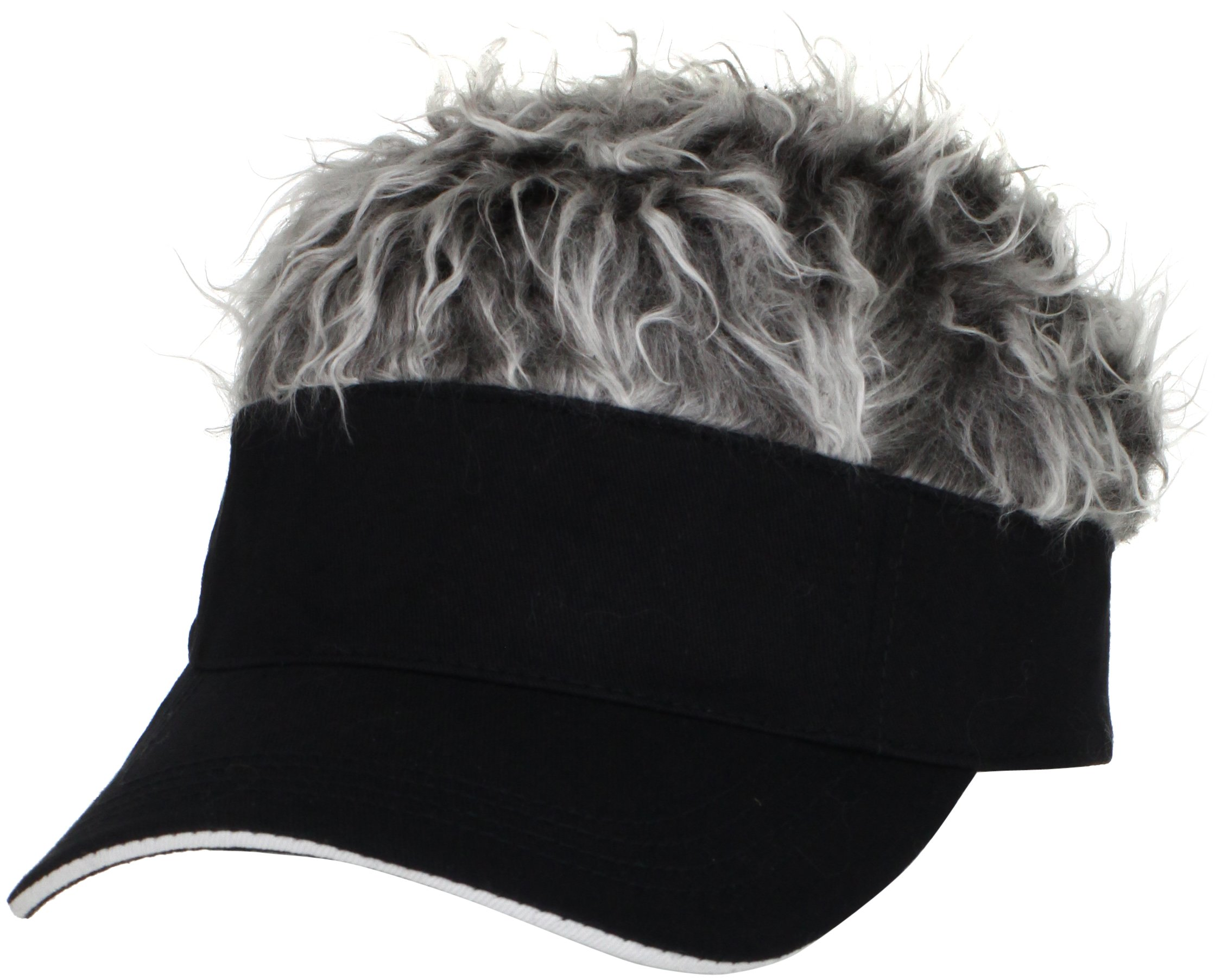 One Size Fits Most Flair Hair Visor Multiple Colors