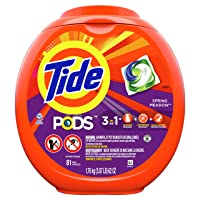 Deals on 81 Count Tide Pods Laundry Detergent Pacs