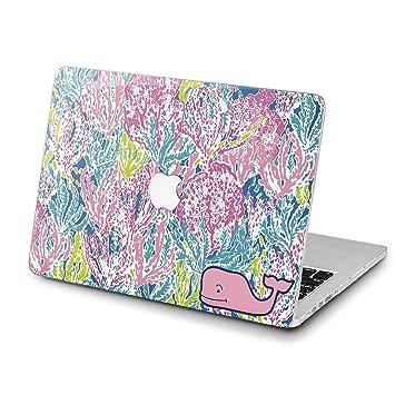 pretty nice 4b2b4 9aa26 Amazon.com: Lex Altern Stylish MacBook Air Case 13 inch Pro A1989 15 ...