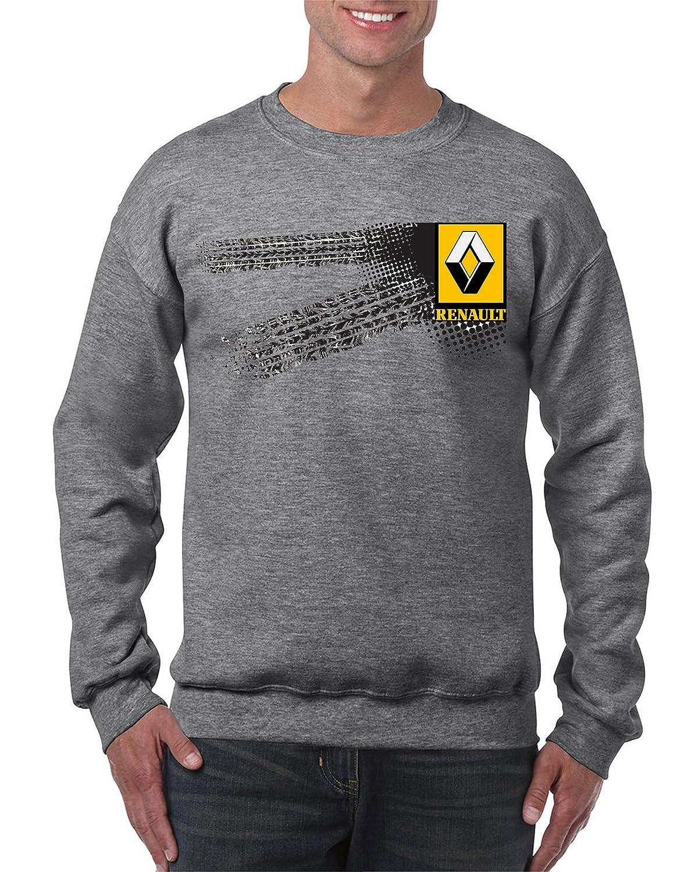 zagorka/_de Renault 5027 Logo Car Gris Sweat-Shirt