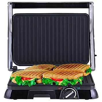 NETTA Grill Sandwichera 4-Serving, Panini Grill 2000W ...